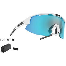 Bliz Matrix M11 Okulary dla wąskich twarzy, matte white/smoke/blue multi